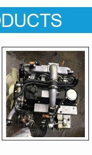 6-cylinder 4.2L diesel engine TD42 without turbo engine with 2 wd transmission