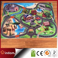 Polyester Non-woven Game Printed Mats for Child
