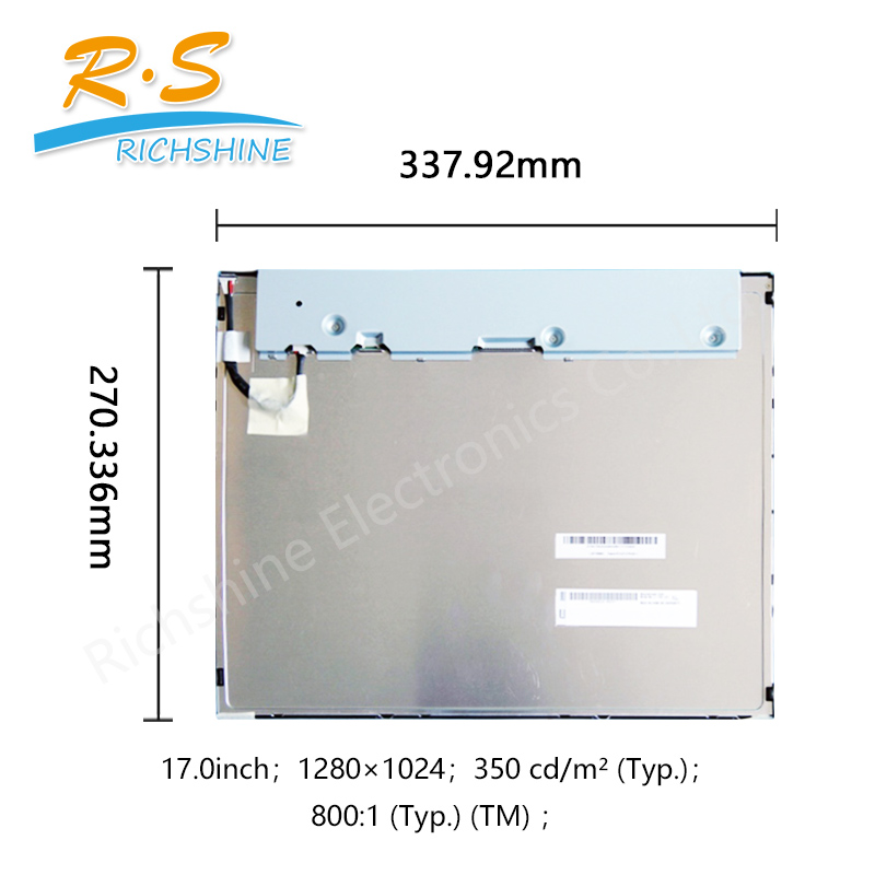 G170EG01 V1 LCD Display Screen panel 17.0 inch 1280 ×1024 Pixel Format RGB