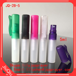 Plastic Material and Personal Care Industrial Use plastic spray bottle 5ml