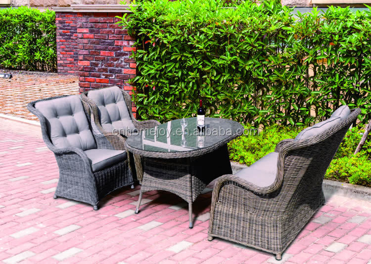 Wicker Outdoor Furniture Rattan Sofa Sets