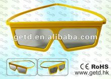 2012 newest and fashionable 3d glasses for movie and TV
