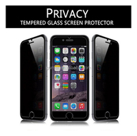 0.33mm Privacy tempered glass screen protector for iphone 6 / plus