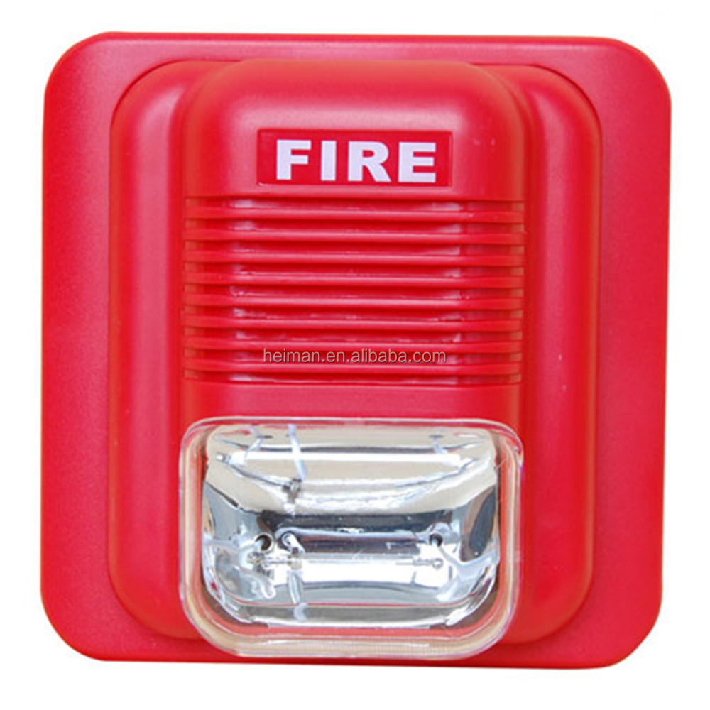 fire alarm system use fire alarm siren with strobe lights