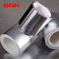 Aluminium foil and polyester film laminated tape, Aluminum foil mylar tape
