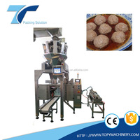 TOPY-MDP Meat Ball and Soup liquid Filling and Sealing packing machine