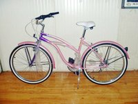 24 woman chopper bike