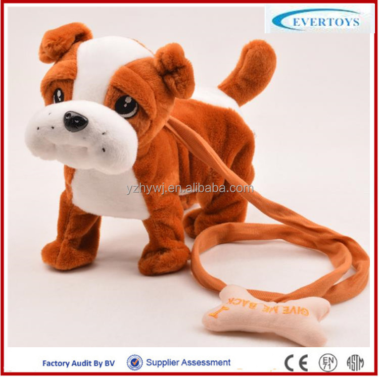 singing dog toy crazy toys for kids battery operated walking dog toy