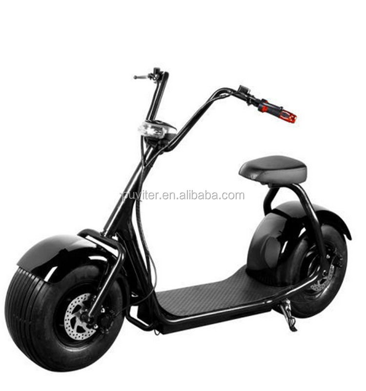 2017 EEC 1000w fat tire harley seev electric scooter citycoco scooter(C01)