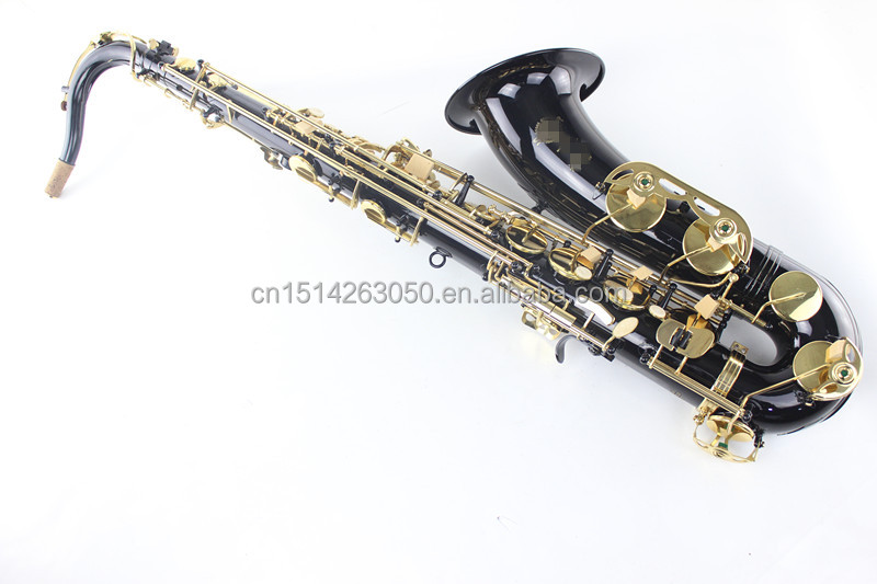 TS-BG1 Tenor Sax India with Black Nickel Surface and Gold Plated Keys
