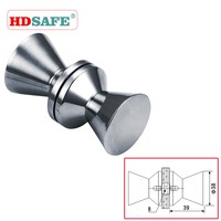 China bathroom shower Cubicle Glass pull knob