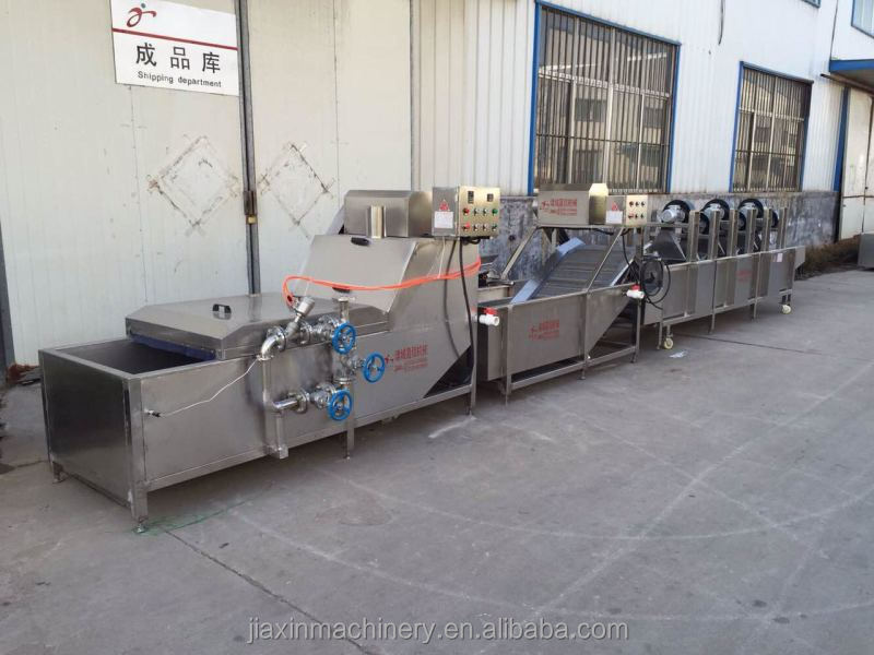 Pre-cooking machine/vegetable processing machine/blanching machine