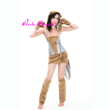 2017 Furry Animal Adult Lady Sexy Cosplay Wolf Costume