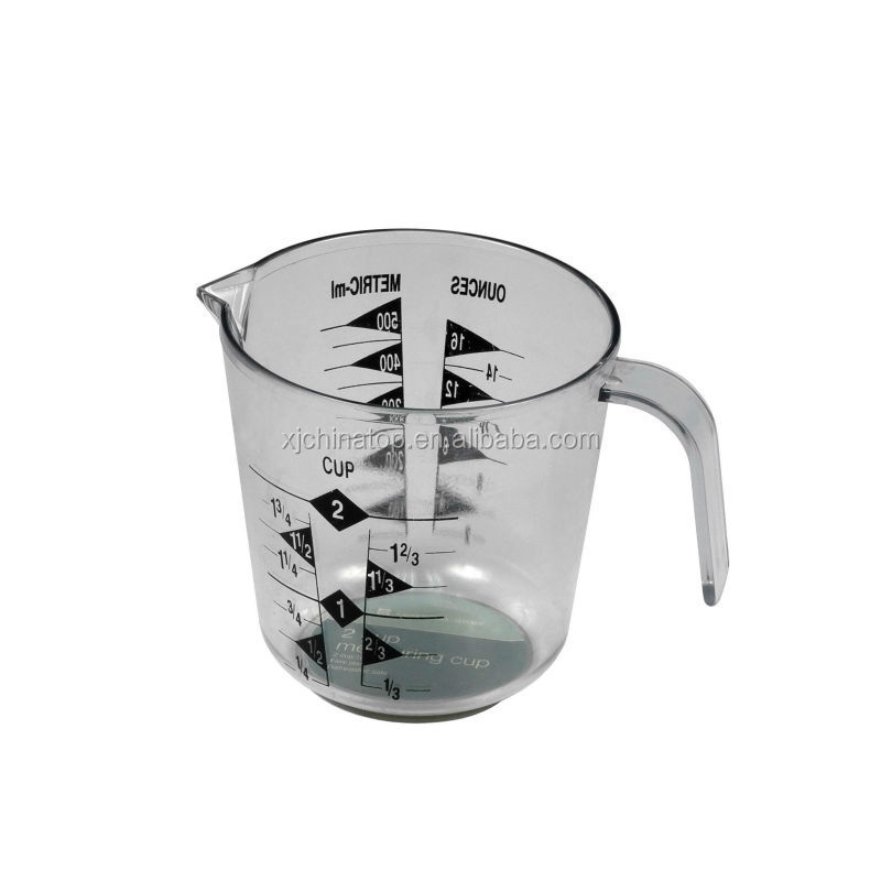 JK16031EA Measuring Tools 1 Cup Plastic Measuring Cup