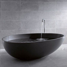SM-8608 The chinese elliptical wholesale black bathtub