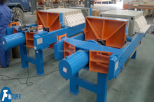 Second squeezing TPE membrane filter press, 15%-30% moisture