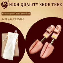 metal handle promotion customized wooden shoe stretcher