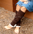 Knitted Leg Warmers for women - loom knitting women leg warmer