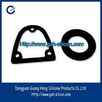 Custom silicone rubber shoulder washer