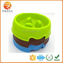 Feeding Pets Drinking Bowl Slow Feeder Food Water Dog Pet Bowl