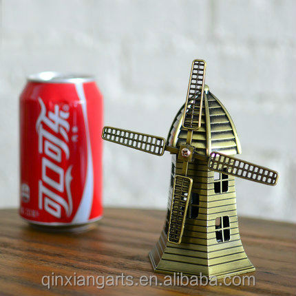 Metal Holland windmill for Decoration