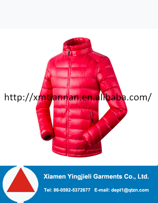 2016 fashion Men winter jacket padded jacket warm quilted down jacket color outdoor man clothing apparel