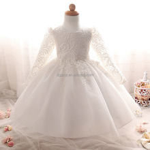 new arrival baby girl wedding tutu dress baby 1 year old party dress