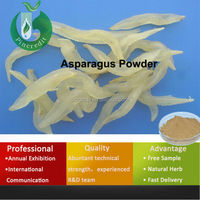 GMP supply asparagus powder asparagus dried roots