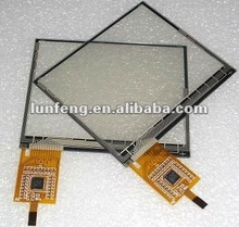 custom-made 6.2 inch Projected Capacitive Touch Panel