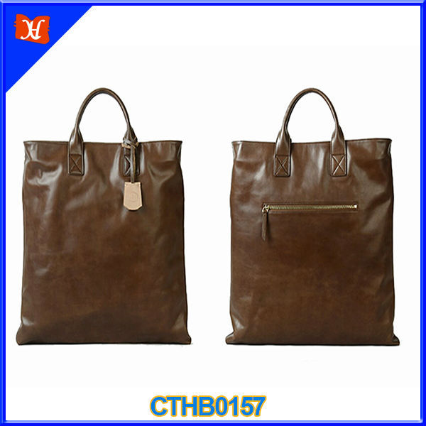 High Quality Europe Vintage Style Vertical Nubuck Bag