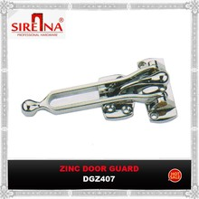 Hotel used zinc alloy door guard