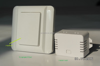 Self-powered wireless wall switch wireless switch 433MHz switch AS 6N