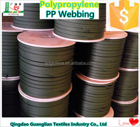 2 cm Wide New Army Green Polypropylene ( PP ) Webbing for Backing Strap Manufacturers Wholesale