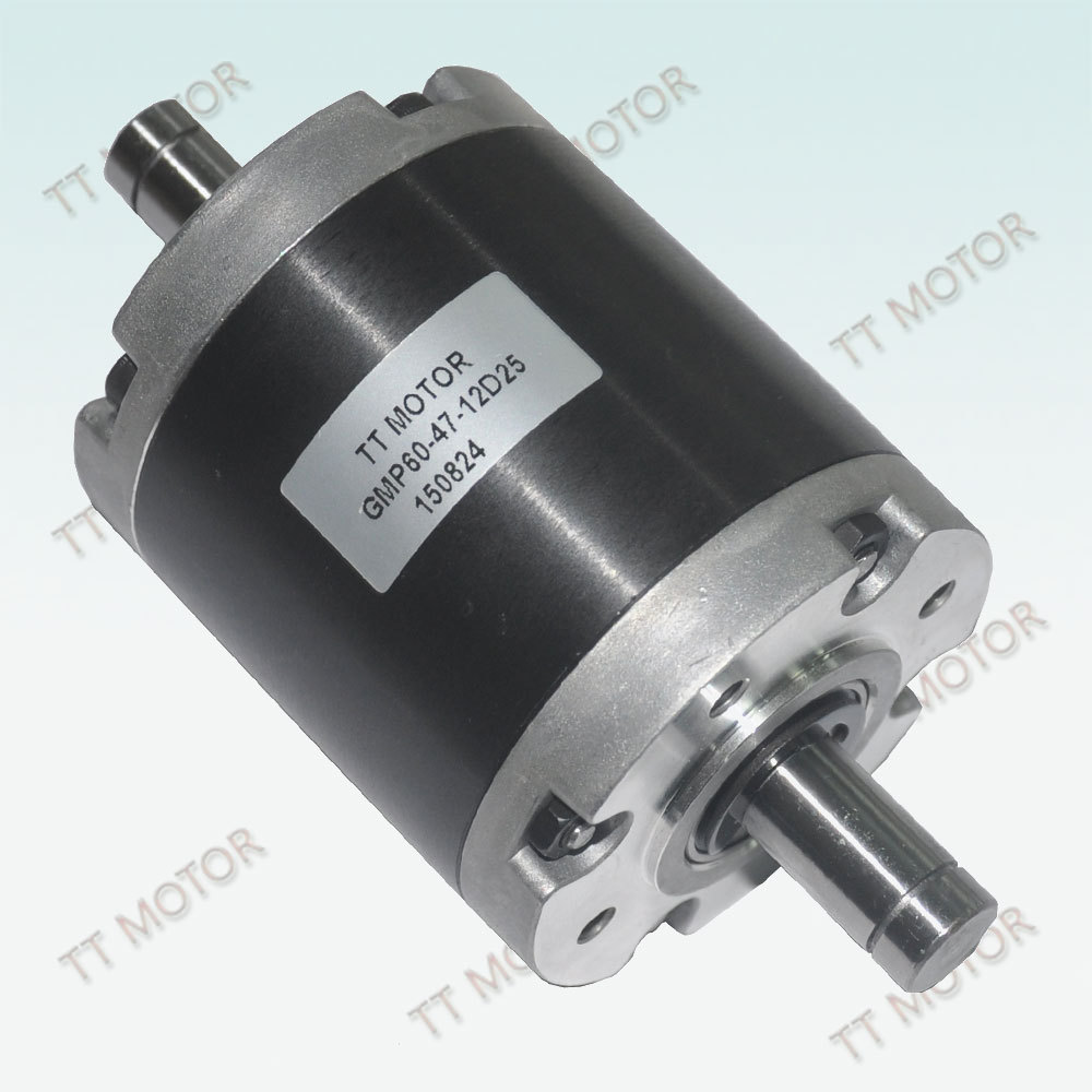 low rpm of 60mm planetary gearbox
