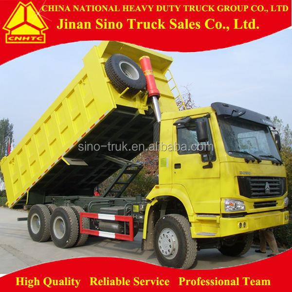 SINOTRUK HOWO 6x4 20cubic dump truck for sale