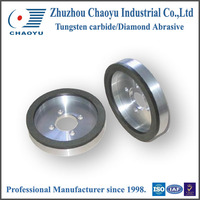 Cup shape Resin &amp Ceramic bond Diamond centerless grinding wheels wholesale with CE&ISO