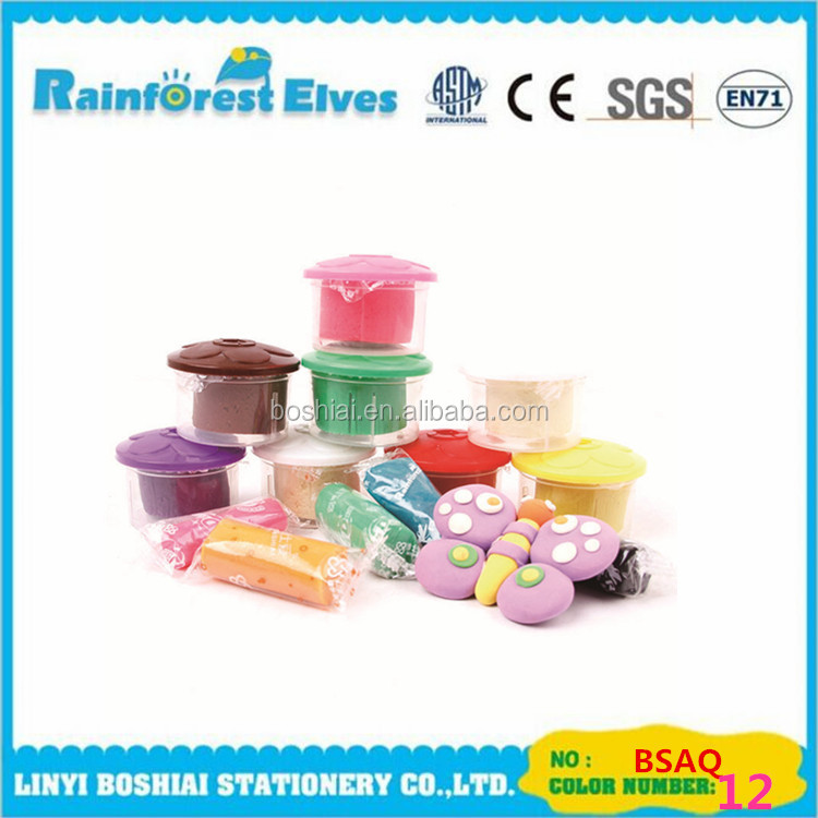 good quality wholesale play dough with plastic container sets