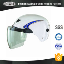 DOT certification open face moped helmets for ladies half face helmet scooter