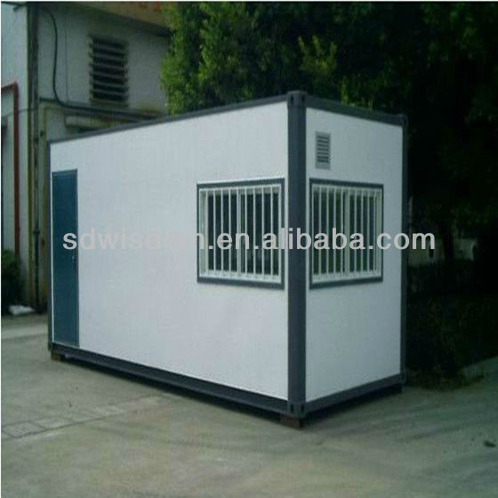 movable sandwich panel materials container office/house