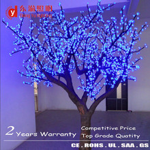 indoor led cherry blossom tree high brightness LEDs fake cherry blossom trees