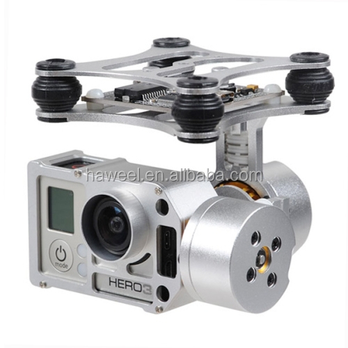New!! New product china supplier DJI Phantom Brushless Gimbal Aluminum Camera Mount with Motor & Controller
