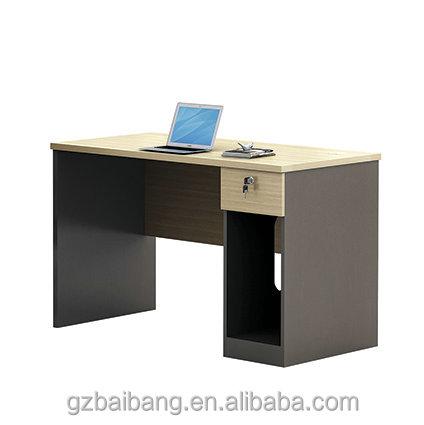 Usine pas cher ordinateur de bureau en bois simple for Bureau bois simple