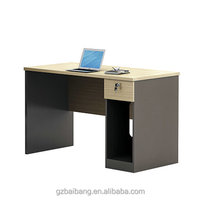 Factory cheap wooden computer desk simple design office desk