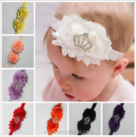Lovely baby girls hair band with crown