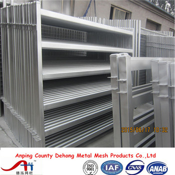 High quality galvanized sheep yard panel, cattle panels., cattle livestock panels