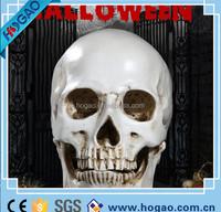 Devil Skull Head Halloween Horror Skeleton Figurine Statue Resin