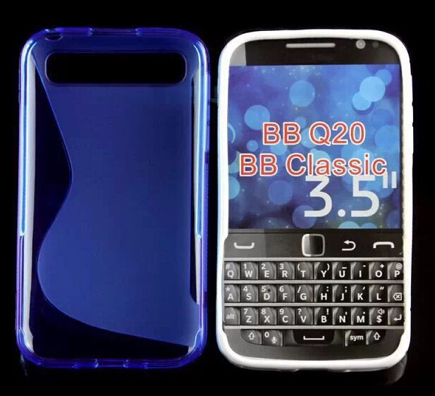 For Blackberry Q20 BB classic TPU s-line Cover case