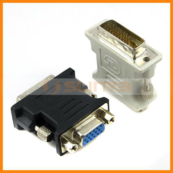 DVI To VGA Adapter Male to Female Connector