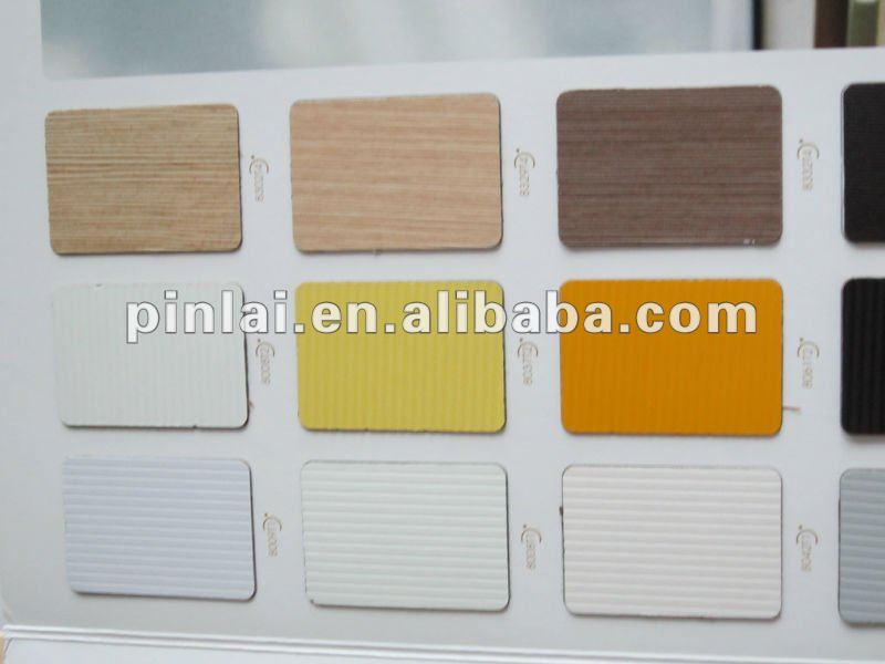 Decorative high pressure plastic laminate