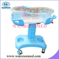 BBC001 Head and Height Adjustable Medical Infant bassinet
